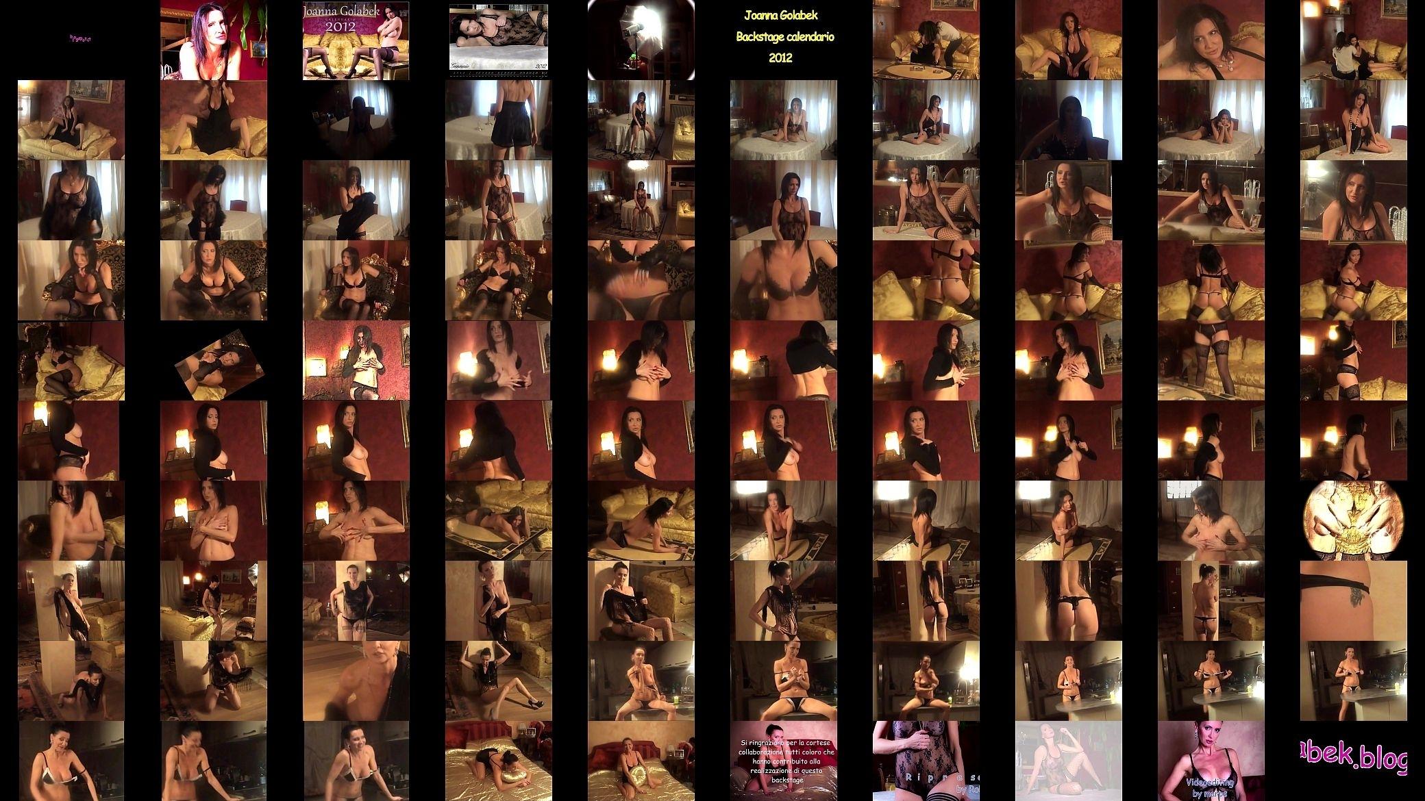 Joanna Golabek Backstage Calendario 2012 Marps - Xnxx