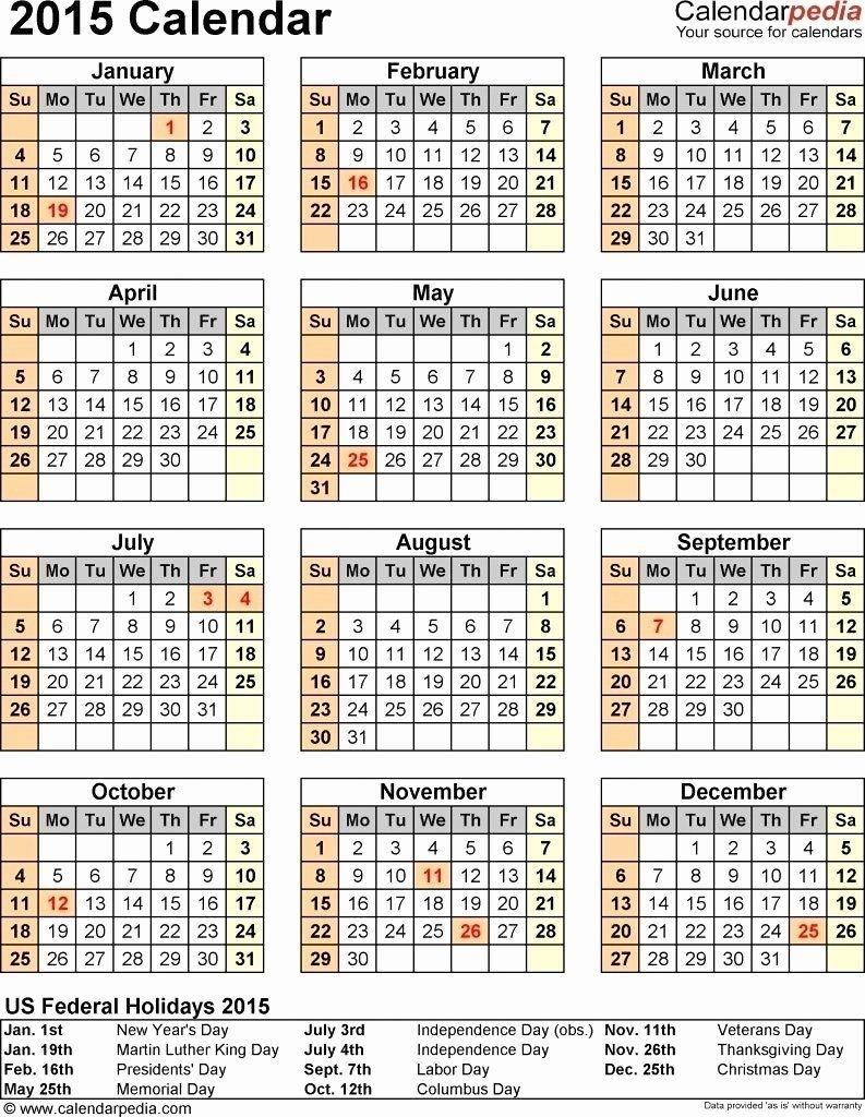 Microsoft Publisher Calendar Templates New Understated 2018