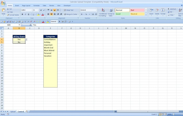 How To Import A Calendar From Excel To Outlook - Turbofuture